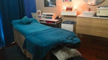 hands of serenity - ipswich massage therapist massage room