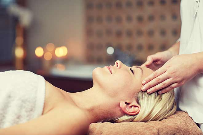head & neck massage | Hands of Serenity, Ipswich